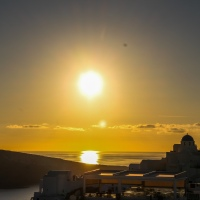 sans parole/wordless : le soir a Oia, an evening in Oia